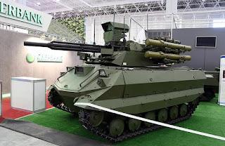 Tank Robot Uran-9