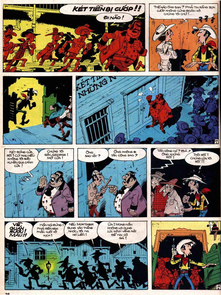 Lucky Luke tap 18 - ki si ao trang trang 34