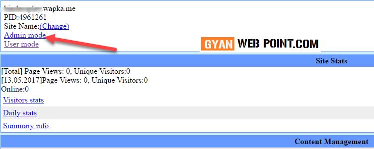 Wapka-Website-Me-Folder-Kaise-Banaye