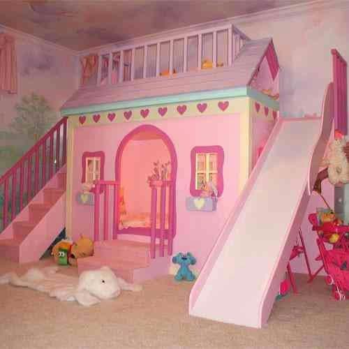Decora hogar dormitorios con camarotes o literas modernas para ni os y ni as v deo tutorial - Casitas de princesas ...