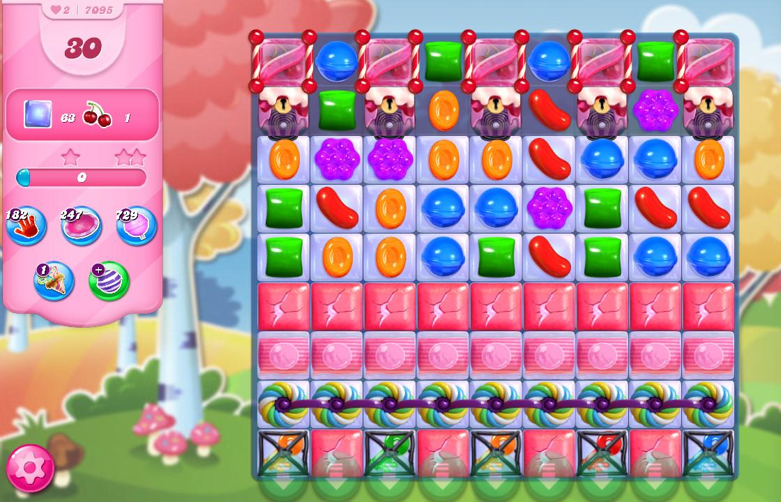 Candy Crush Saga level 7095