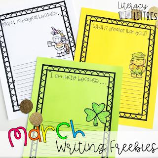 https://www.teacherspayteachers.com/Product/March-Writing-Pages-Freebie-3693923