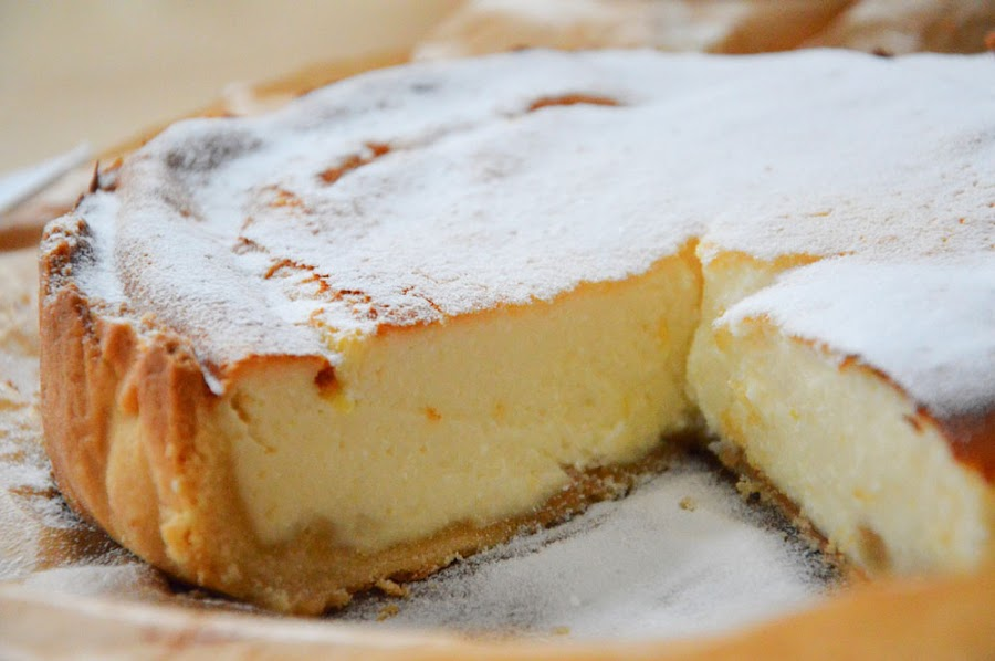 Receta de tarta de queso tradicional