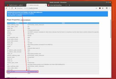 Chromium snap GPUVideoDecoder video_decoder media-internals