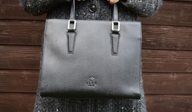 Ilex London Black Sophie Grab Bag