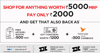 [12-16 Dec Weekend Sale]How to Get Rs.3000 Disocunt on Shopping Up to Rs.5000