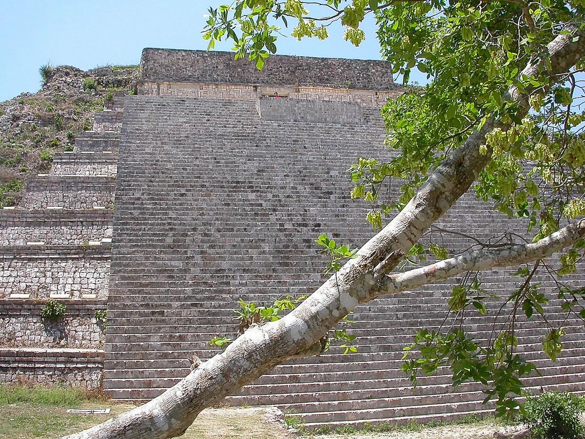La Grande Pyramide Uxmal