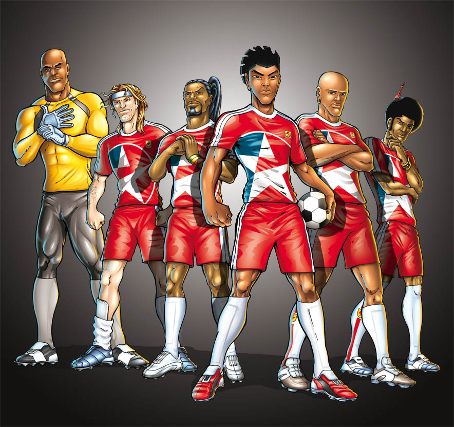 Krisada Supa Strikas My Favorite Cartoon And Favorite