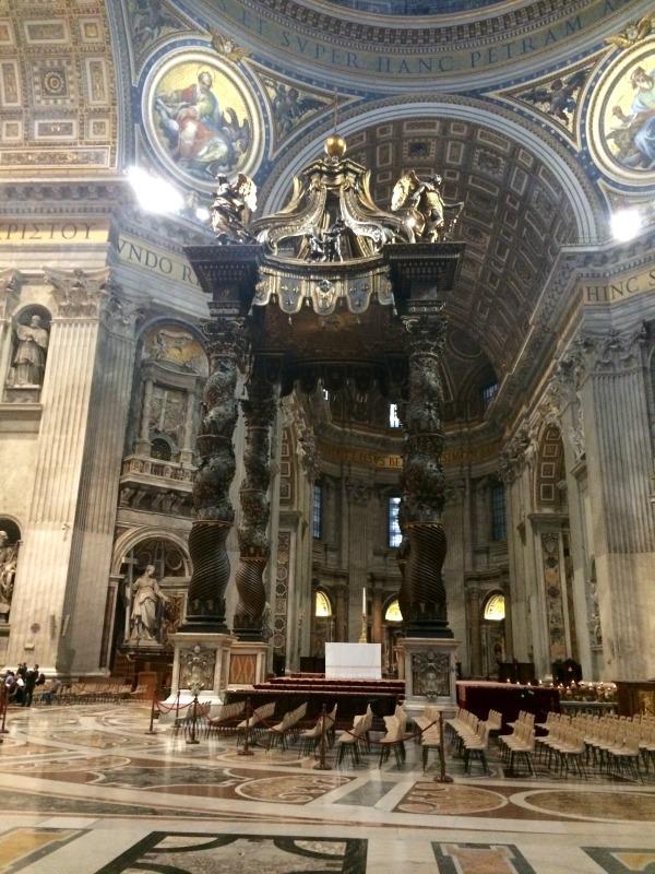 St. Peter's Basilica - Bernini's Baldacchino