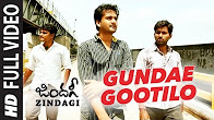 Watch Zindagi Gundae Gootilo full Video Song Watch Online Youtube HD Free Download