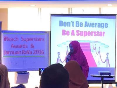 Don't Be Average, Be A Superstar - Perkongsian Daripada Master Lyna Noh