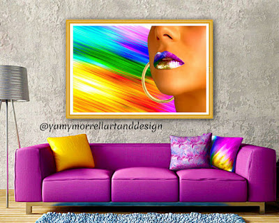 woman-lips-rainbow-color-lines-art-by-yamy-morrell