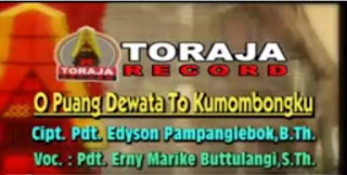 Download Lagu O Puang Dewata To Kumombongku