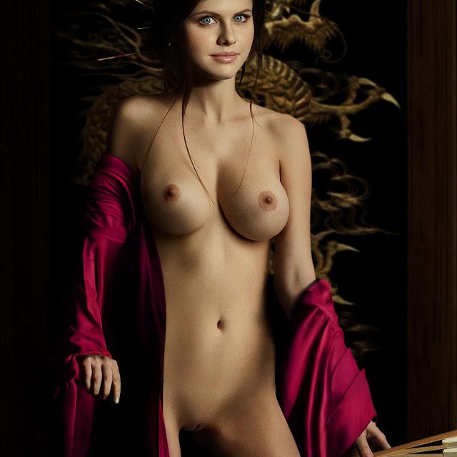 Alexandra Daddario full frontal naked
