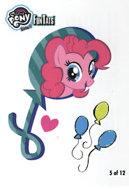 My Little Pony Tattoo Card 5 Series 4 Trading Card