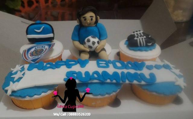 Cupcake Ulang tahun Arema