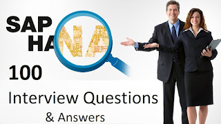 SAP HANA Interview Questions And Answers For Freshers & Experienced