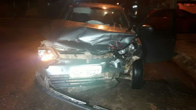 Mais um acidente grave é registrado na região central de Porto Velho