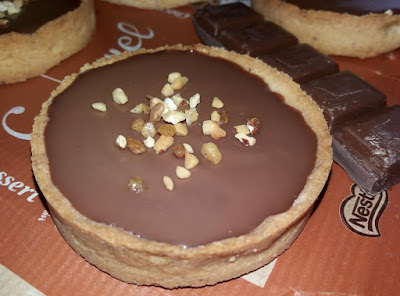 "alt=""tartelettes au chocolat au caramel"""