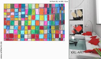 Malerei, großformatige Bilder, abstrakte Malerei bis maximal 990,€.