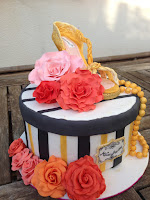 fondant shoe cake flowers