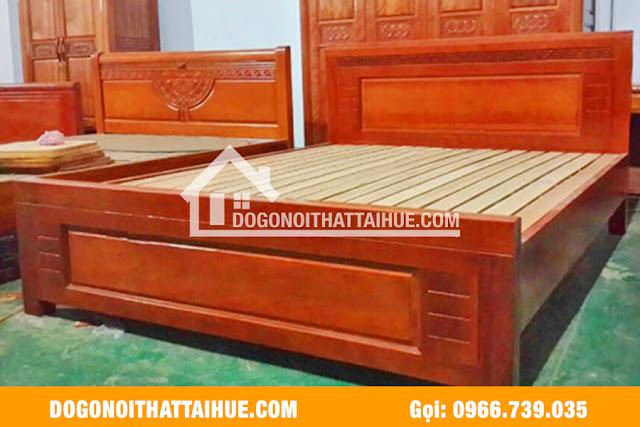 Mẫu giường ngủ gỗ xoan đào tại Huế, Giuong ngu xoan dao Thua Thien Hue