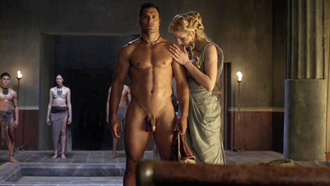 spartacus male nudity