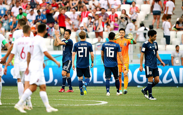 2018FIFAワールドカップ ロシア 決勝トーナメント決定
