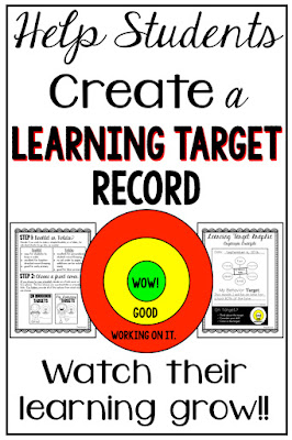 What is best practice for assessment in education? It turns out that it is extremely beneficial to have our students create learning targets and to keep track of their own learning! This product will help you do all of these things!! Get it now and teach your students to take CONTROL of their OWN learning!!! Make them ACCOUNTABLE!!! Watch the growth and excitement as they see their improvement!!! Also, this product fits PERFECTLY with developing a growth mindset!