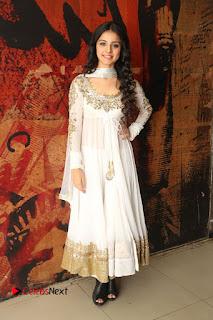 Telugu Actress Mahima Makwana Stills in White Desginer Dress at Venkatapuram Movie Logo Launch  0228.JPG