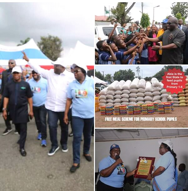 Abia School Feeding Program is 2 years old and still counting