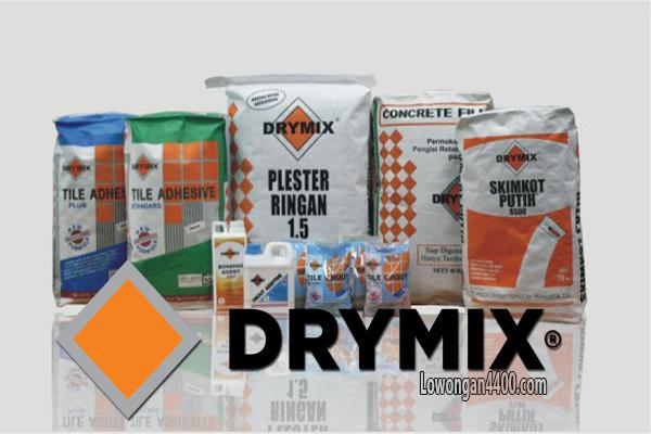 Lowongan Kerja Terbaru PT Drymix Indonesia