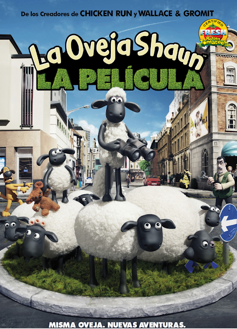 La Oveja Shaun: La Película [2015] [DVD5] [Latino]