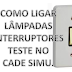 Como instalar interruptores e testar no CADe SIMU?