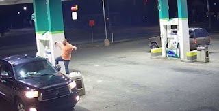 'Karate Kid' Thief Uses 'Crane Pose' Before Snatching Purse At Gas Station