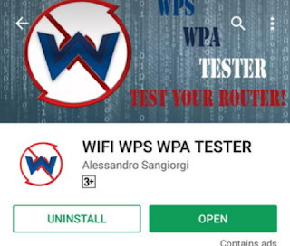 "WPS WPA TESTER"" App Download"