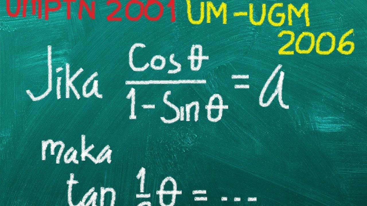 40 Soal Dan Pembahasan Matematika Dasar Trigonometri Defantri Com