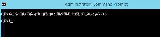 Windows & PowerShell : Managing Windows Updates from Command line
