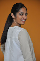 Radhika Cute Young New Actress in White Long Transparent Kurta ~  Exclusive Celebrities Galleries 089.JPG