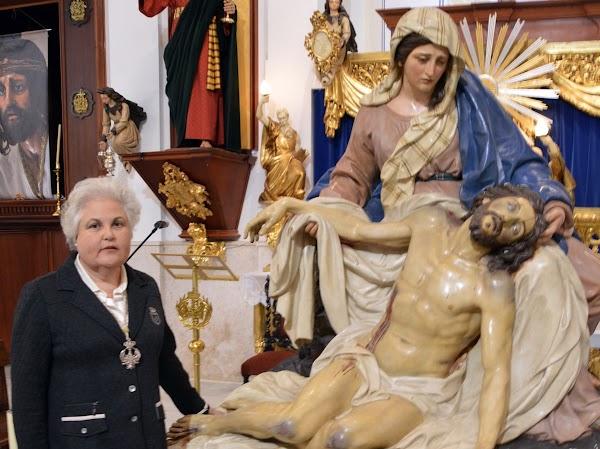 Teresa García será la pregonera de la Semana Santa de Huércal-Overa 2019