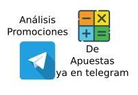 Canal Telegram Analisis Promociones de Apuestas
