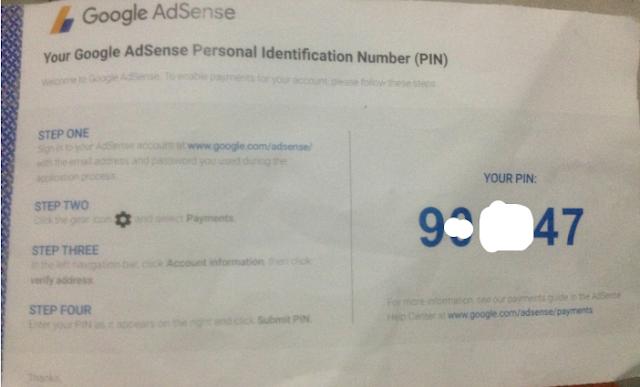 Tips Agar Pin Google Adsense Bisa Cepat Sampai 5