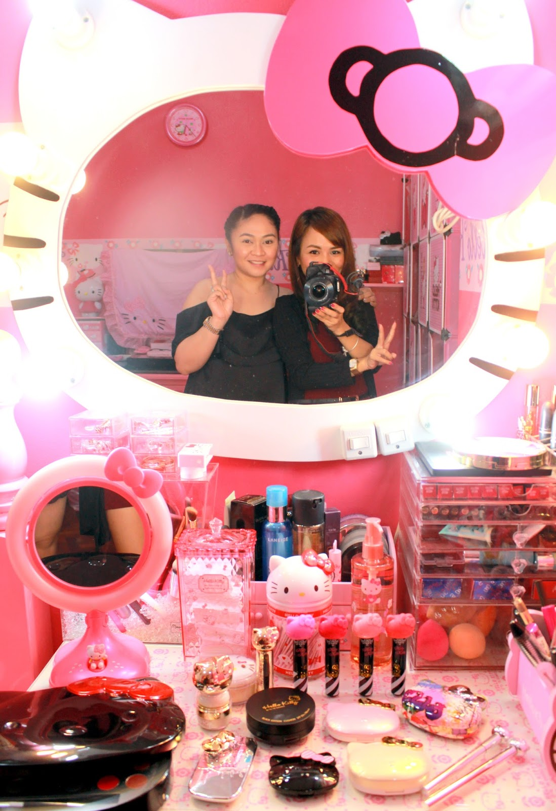 Real Asian Beauty  Hello Kitty Collection and Hello Kitty House Tour!! 29582a422a6d2