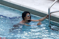 Priyanka Chopra in Bikini at a el pool  08 ~  Exclusive.jpg