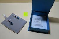 Lieferumfang: OneChance Damen Ohrring Kollektion Blau Kristall Teardrop Ohrhänger