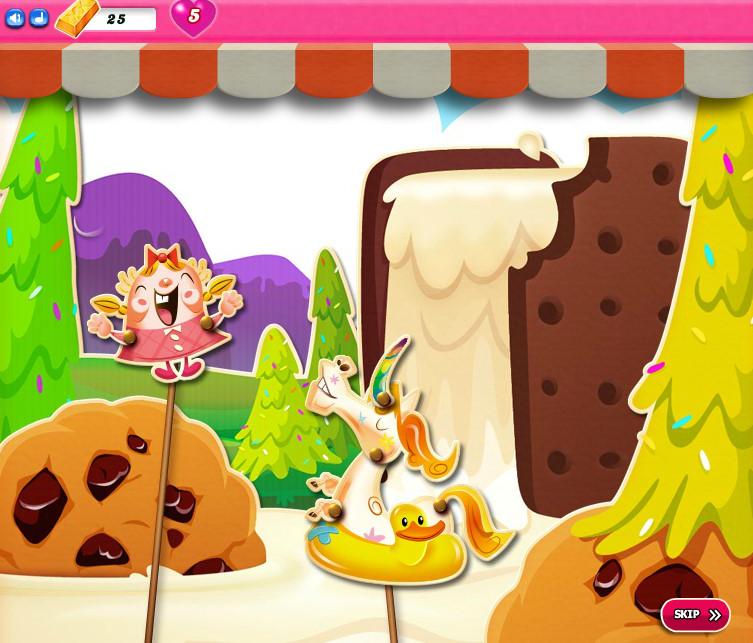 Candy Crush Saga level 2586-2600