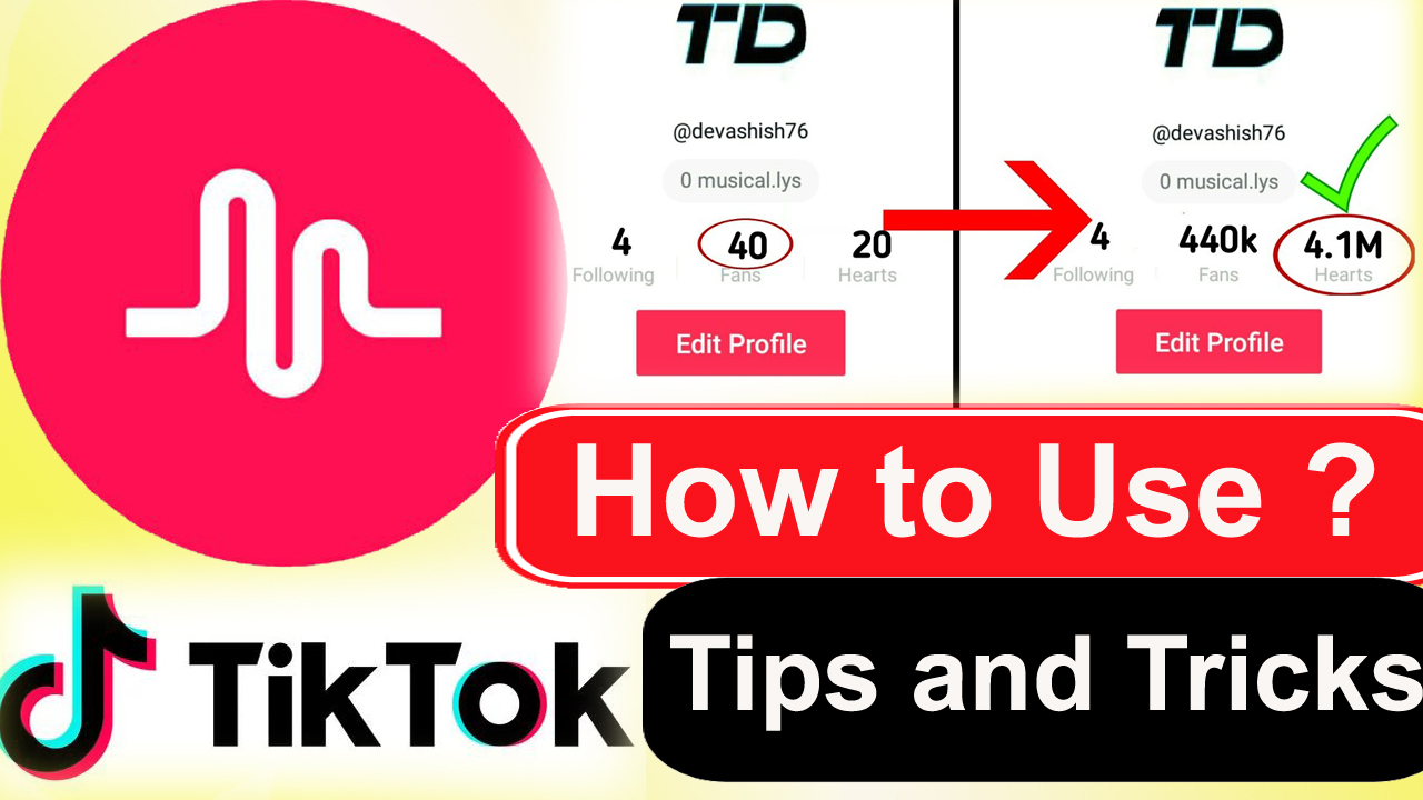 How to gain more fans on Musically(Tik Tok) - Get more likes