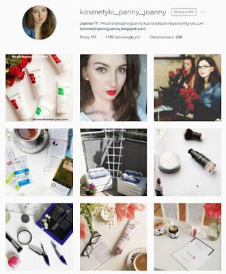 instagram kosmetyki panny joanny