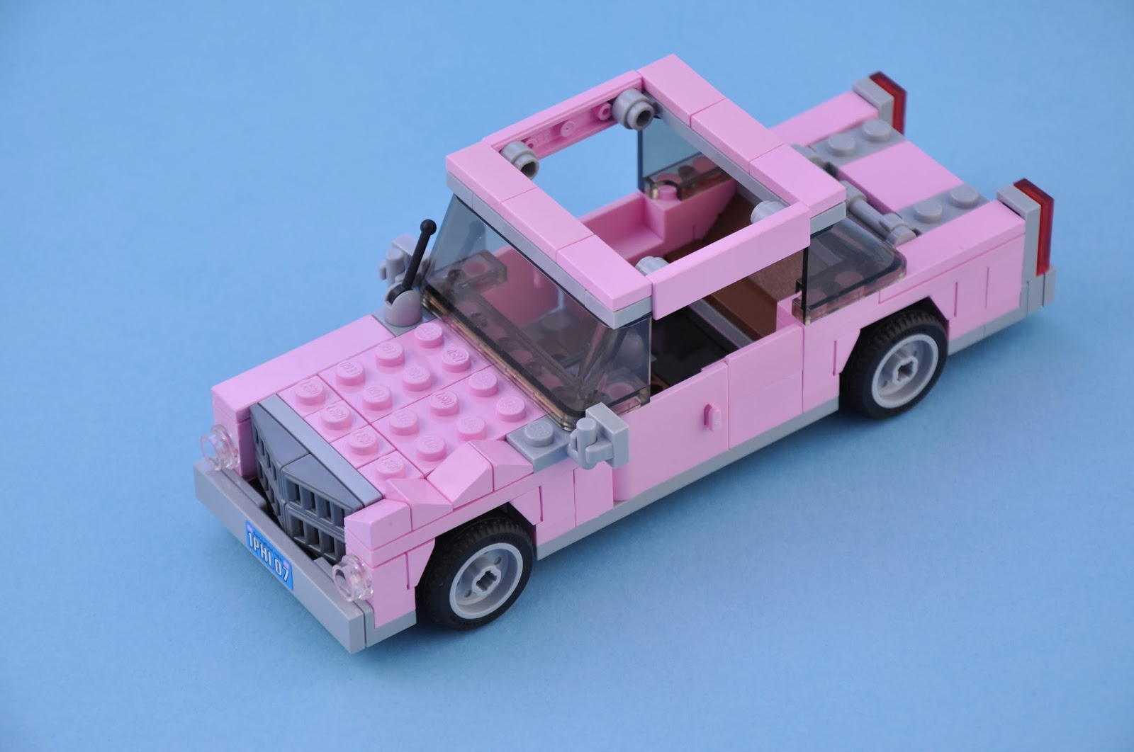 Homer Car: Oz Brick Nation: LEGO The Simpsons 71006: The Simpsons