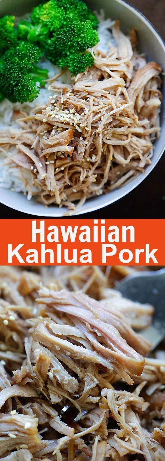 Hawaiian Kalua Pork Recipe